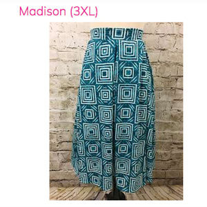 NWT New Lularoe Madison 3xl skirt 3x